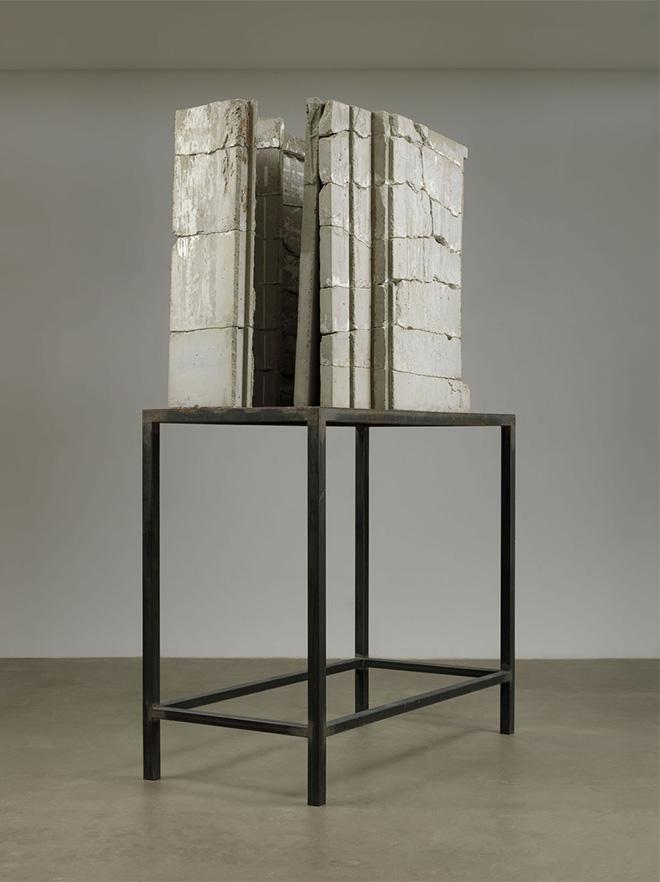 Isa Genzken. Bild (Painting), 1989 .Concrete and steel. 103 9/16 x 63 x 30 5/16″ (263 x 160 x 77 cm). The Museum of Modern Art, New York. Gift of Susan and Leonard Feinstein and an anonymous donor. © 2014 The Museum of Modern Art, New York. Photo: Jonathan Muzikar