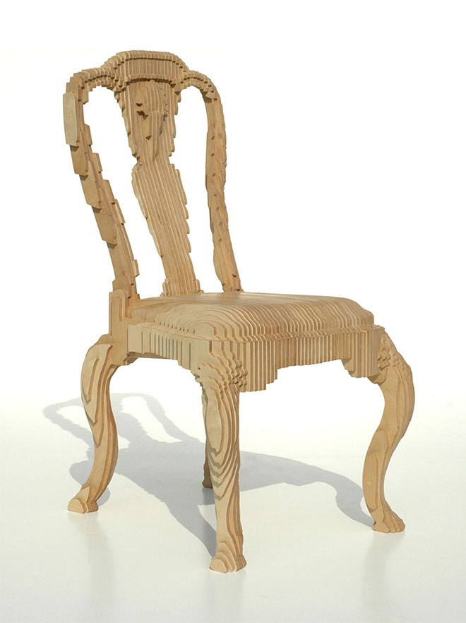 Clone Chair, 2005, by Julian Mayor. Image is by Julian Mayor and Topaz Leung.