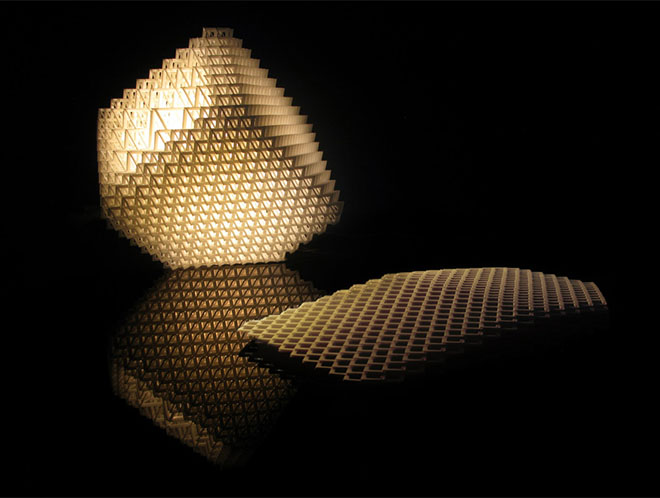 Volume.MGX Lamp, 2009, by Dror Benshetrit. Image is by .MGX Materialise