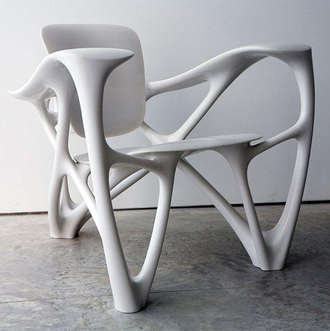 Bone Armchair by Joris Laarman