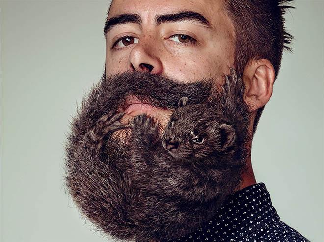 modern facial hair style