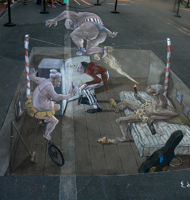 Chalk festival Sarasota | Eduardo Rolero