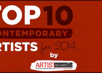 Top 10 Contemporary Artists of 2014 by Artist Become