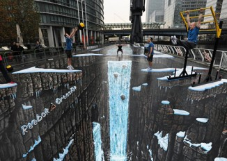 The 5 most talented 3D Sidewalk Artists that will make you look twice!