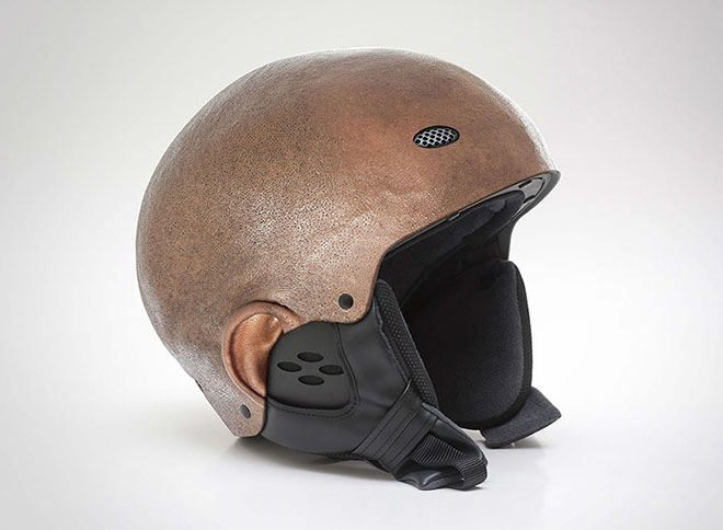 Design Museum- Custom-made Bike Human Heads Helmet by Jyo John-4