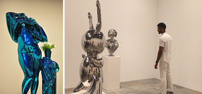 Design Museum-Jeff Koons Retrospective at Guggenheim Bilbao-6