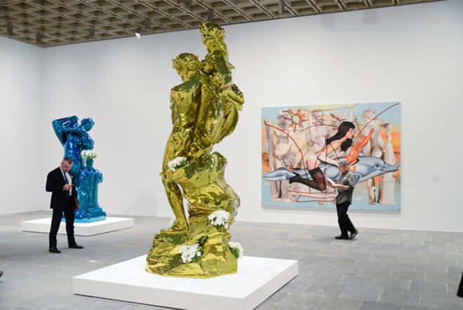 Design Museum-Jeff Koons Retrospective at Guggenheim Bilbao-8