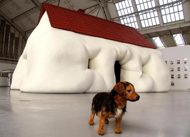 Design Museum-Contemporary sculpture art by Erwin Wurm-2