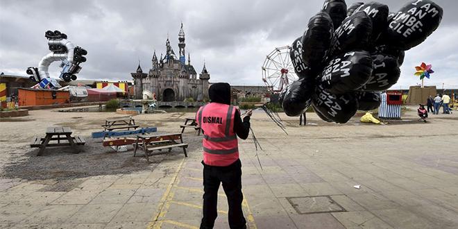 Design Museum - Banksy's twisted 'Dismaland' theme park