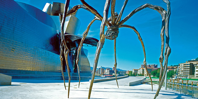 Design Museum - Contemporary art by Louise Bourgeois