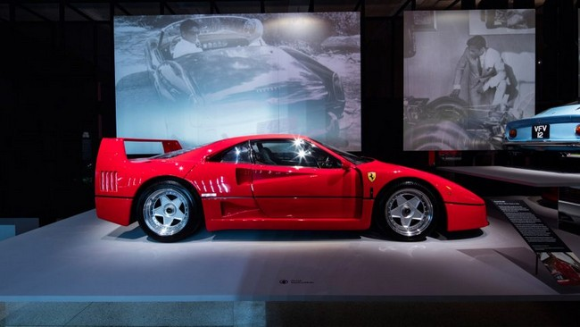 Design Museum Exhibit Celebrates 70 years of Ferrari Design
