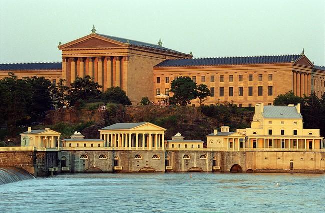 The Modern Restaurant Inside The Philadelphia Museum of Art