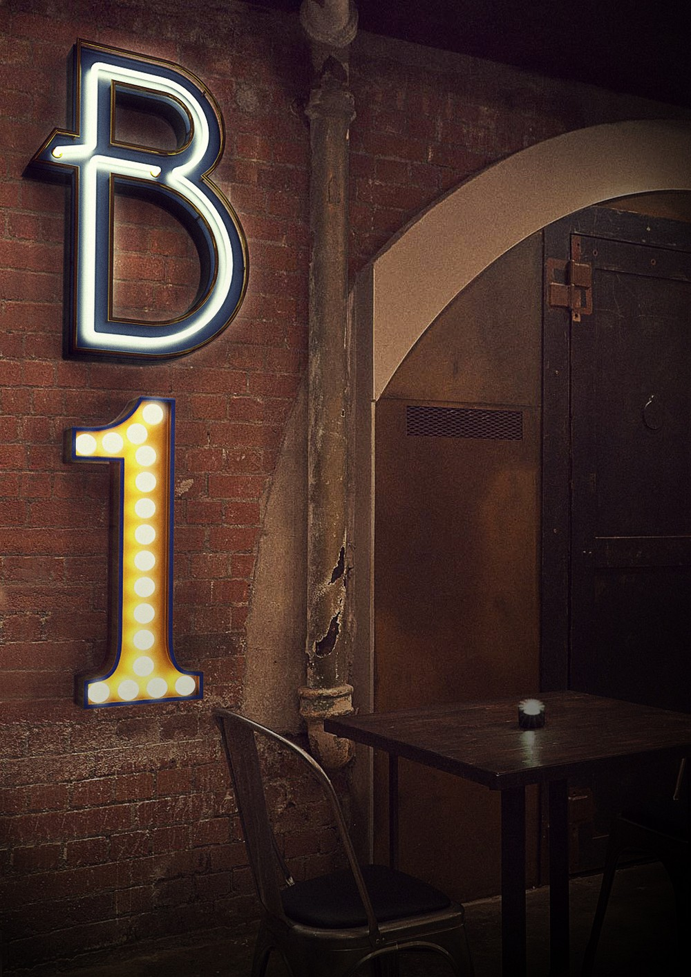 Everything On The Modern Marquee Lights Made By DelightFULL's Artisans