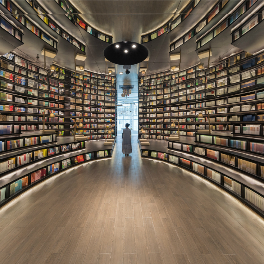 Modern Bookstores and Libraries Around The World