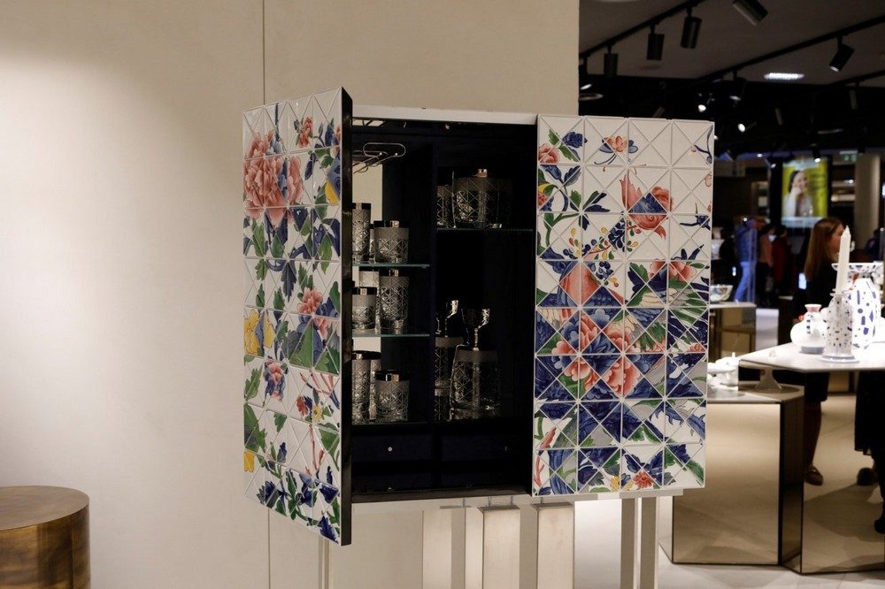 Portuguese Craft Is The Focus Of This Incredible Handmade Cabinet